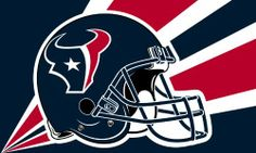 NFL Houston Texans 3-by-5 Foot Helmet Flag by Fremont Die. $19.99. Actual team colors. Screen printed with uva protection. 3-by-5 Foot polyester Flag. Officially licensed NFL product.. Reinforced headband with two grommets for flying. NFL Houston Texans 3-by-5 Foot Helmet Flag