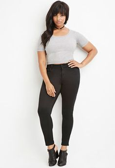 Plus Size Classic Skinny Jeans | Forever 21 PLUS - 2000142657