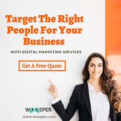 We are one of the leading digital marketing company providing affordable services like SEO, PPC, SMO, ORM, ASO & more which helps your business to grow. Digital Marketing Strategist, Digital Marketing Services, Seo Services, Internet Marketing, Online Marketing, Free Quotes, Online Business, Target, People