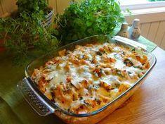 Edel's Mat & Vin : Kyllingform med pasta ♫