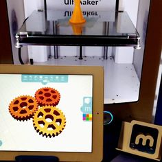 Having an amazing time at #ISTE2015 this week meeting teachers from all over the world! #3dprinting