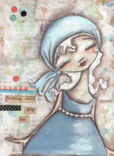 Cereal Box Art Unstoppable Original motivational by DUDADAZE