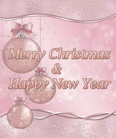 Pink Christmas Ornaments, Christmas Colors, Merry Christmas And Happy New Year, Christmas Traditions, Clip Art, Glamour, Traditional, The Shining, Pictures