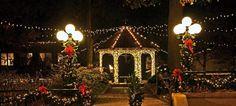 Mount Vernon Plaza at Christmas