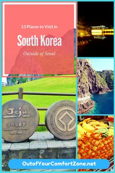 South Korea is full of beautiful places to visit outside of Seoul.... read on to learn 13 of the best places to visit!