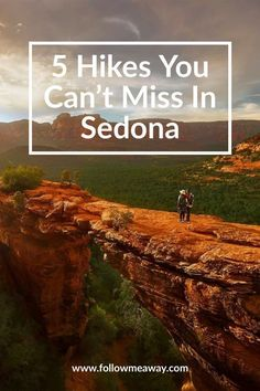 Are you looking for the best hikes in Sedona? There are great hiking trails in Sedona for all ages and skill levels but these are the best. Sedona Arizona, Arizona Road Trip, Arizona Travel, Visit Arizona, Hiking In Arizona, Phoenix Arizona, Tahiti, Bora Bora, Travel Usa