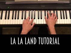 LA LA LAND Piano Tutorial + Sheet Music || Mia & Sebastian's Theme