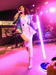 Marina & the Diamonds performs onstage at the SoundExchange/Marty Diamond showcase during the 2015 SXSW