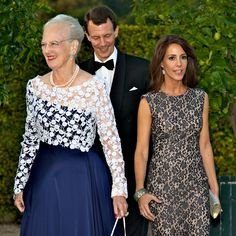 The Danish Royal Family attended a gala dinner in honor of the 150th anniversary of the Red Cross. The evening was held at the Orangery Palace Fredensborg