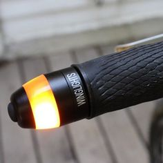 Keep safe with these magnetic bicycle handlebar lights.