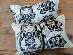 Cushions...