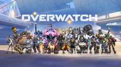 Download Overwatch All Heroes Wallpaper HD 1920x1080