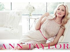Kate Hudson is glowing in her first Ann Taylor ads  #AnnHeartsFashion and #Fashion ♥