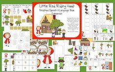 Speech Room News: Little Red Riding Hood: Book Companion