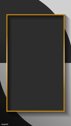 Paper Background Design, Powerpoint Background Design, Frame Background, Background Pictures, Abstract Backgrounds, Wallpaper Backgrounds, Wallpapers, Banner Template Photoshop, Gold And Black Background