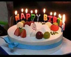 Birthday Cakes With Name Mitesh ~ Write name on happy birthday cake with candle happy birthday
