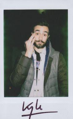 Kyle's mustache photo
