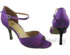 Natural Spin Tango Salsa Shoes/Tango Shoes/Fashion Shoes(Open Toe):  T1102-07a_D