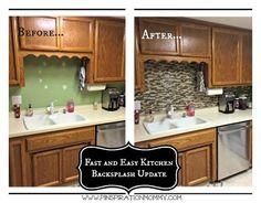 using vinyl smart tiles to update my kitchen, diy, home decor, home improvement, kitchen design, tiling