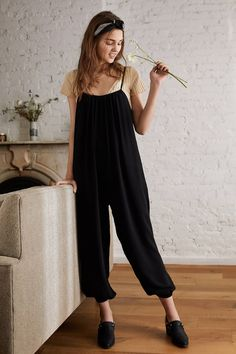UO Slouchy Leg Jumpsuit | Urban Outfitters