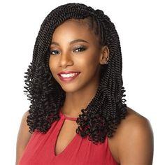 # jumbo box Braids curly ends Sensationnel Synthetic Lulutress Crochet Braid - KINKY TWIST 12 Inch Braided Hairstyles For Black Women, African Braids Hairstyles, Twist Hairstyles, Trendy Hairstyles, Dreadlock Hairstyles, Wedding Hairstyles, Teenage Hairstyles, Hairstyles Videos, Hairstyles Haircuts