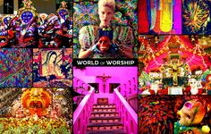The World of Worship is brimming with iconic imagery. From the Mexican Dia de los Muertos, with it's rainbow of iconic skulls and skeletons, to the elegant and colorful Hindu funeral processions along the Ganges, people have found ways to express a deep sense of meaning through explosive combinations of visual art. Now it's your chance to dig deep into your sensory memory and recreate those festive moments of color, texture and celebration! Submit now!