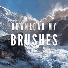 noahbradley:Go to noahbradley.com and scroll to the bottom to download my brushes for free. :)
