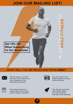 Join Our Mailing List - visit our website to sign up. #AspireToInspire #Arezfitness Campaign, Join, Thoughts, Website, Movie Posters, Film Poster, Billboard, Film Posters, Ideas