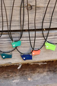 Under the Big Sky Necklaces - Multiple Colors from The Montana Way