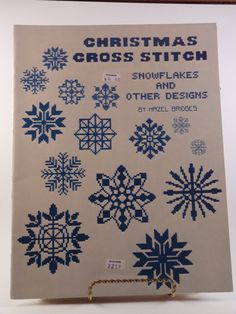 Christmas Cross Stitch: Snowflakes and Other Designs by Hazel Bridges