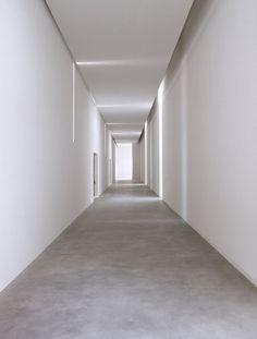 Fondazione Sandretto, Torino, Italy _ by architect Claudio Silvestrin _