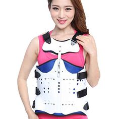 Posture Corrector, Clamp, Back Pain, Bodybuilding, Resin, Tank Tops, Fitness, Women, Fashion