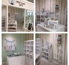 The inside of the West Coast Gifts in store display. Fit completely with our White Heritage Collection | /shop/en/morplan/heritage-white