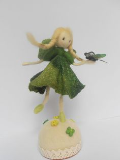 Your place to buy and sell all things handmade Christmas Themes, Christmas Decorations, Christmas Ornaments, Holiday Decor, Etsy Handmade, Handmade Gifts, Felt Gifts, Felt Fairy, Fairy Figurines