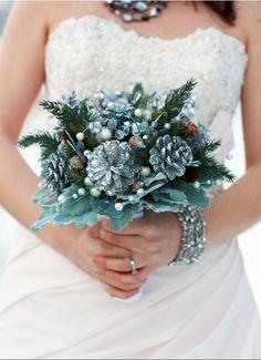 The Painted Cone | Pine Cone Wedding Bouquet Ideas | Trendy Bride