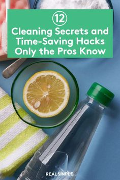 12 Cleaning Secrets Only the Pros Know | Cleaning experts share their professional cleaning tricks and hacks that are some of their best-kept cleaning secrets to help you save time and energy in your cleaning routine. #cleaningtips #cleanhouse #realsimple #stepbystepcleaning #cleaninghacks #cleaningguide