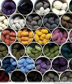 Great Yarn Storage Ideas