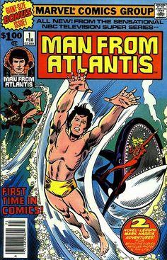 Man from Atlantis 1- John Buscema