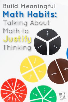 Build Math Habits: Talk About & Justify Math Thinking. Do your math students need help looking to see if their answer makes sense so that they are really thinking about it rather than just spitting out an answer? This is great practice for math students to practice justifying their thinking in knowing they came to the correct solution. #mathpatterns #mathteachingtips #mathactivities #problemsolving #criticalthinking Math Writing, Math Literacy, Fun Math, Teaching Math, Maths, Free Math Practice, Math Practice Standards, Free Math Worksheets, Math Resources