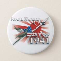 $3.45 (15% off) with code STUCKONUZAZZ #Pearl #Habor #7th #Dec #1941 #Pinback #Button #Zazzle.com https://www.zazzle.com/pearl_habor_7th_dec_1941_pinback_button-145812398507555003