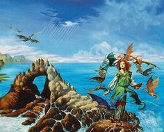 menolly from anne mccaffreys books - Google Search