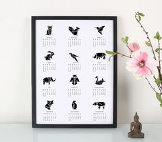 Kalender / Origami