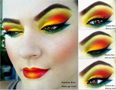 Tropical beauty http://www.makeupbee.com/look_Tropical-beauty_48761