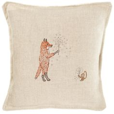 Coral and Tusk - sparklers pillow