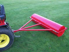 72 inch paddock field roller. Towable field rollers to maintain your horse paddock, can also be use for garden lawns. Field rollers ensure healthy grass growth for good paddock maintenance. For more info: http://www.fresh-group.com/field-rollers.html