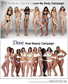 The difference between Victoria's Secret and Dove…