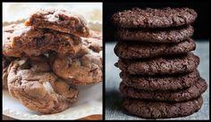 Συνταγή για Νηστίσιμα μπισκότα σοκολάτας! | ediva.gr Vegan, Cookies, Chocolate, Cake, Desserts, Recipes, Food, Crack Crackers, Tailgate Desserts