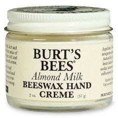 "Burt's Bees Almond Milk Beeswax Hand Creme, $5.35  ""luxe-on-a-budget hand cream. It goes on thick and creamy with an almond scent, leaving a soft, powdery finish. Even after I wash my hands hours later, my skin feels velvety."""