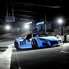 The Gumpert Apollo is a sports car produced by German automaker Gumpert Sportwagenmanufaktur GmbH in Altenburg. Lamborghini, Ferrari, Koenigsegg, Sexy Cars, Hot Cars, My Dream Car, Dream Cars, Aston Martin, Badass