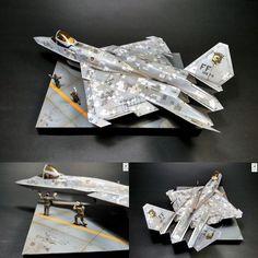 Fantastic!!! USAF F-23 Black Widow 1/72